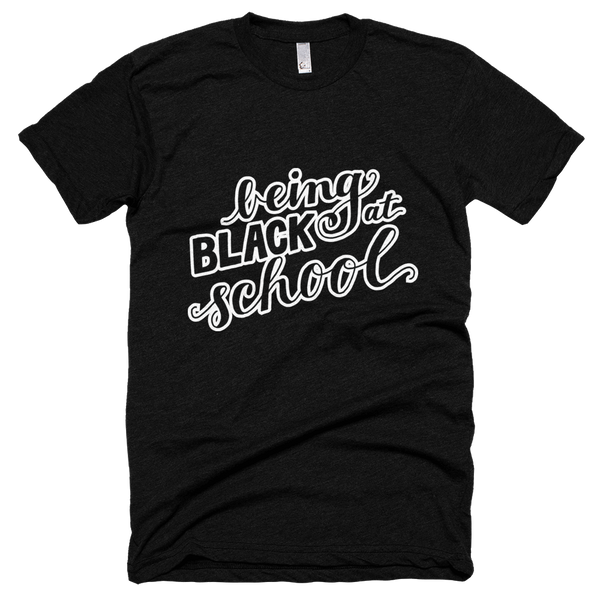 Being Black at School - Men's T-shirt