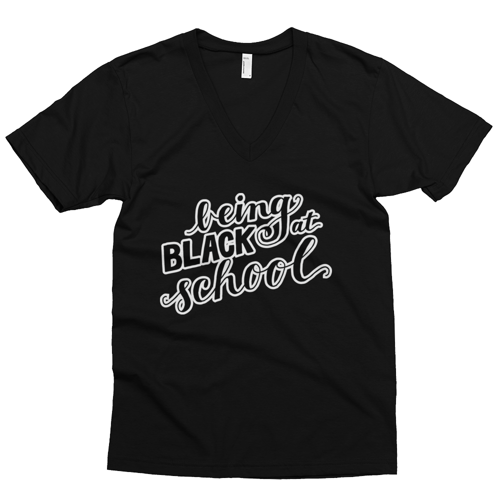 Being Black at School - Women's T-shirt