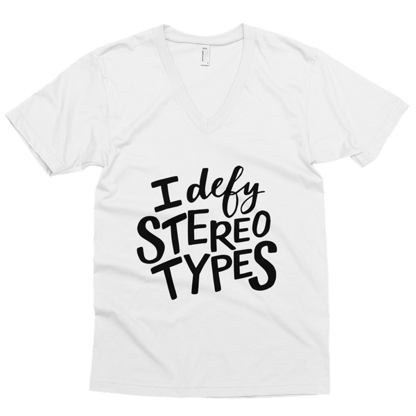 I Defy Stereotypes - Kid's T-shirt