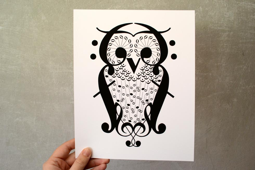 Music Note Owl