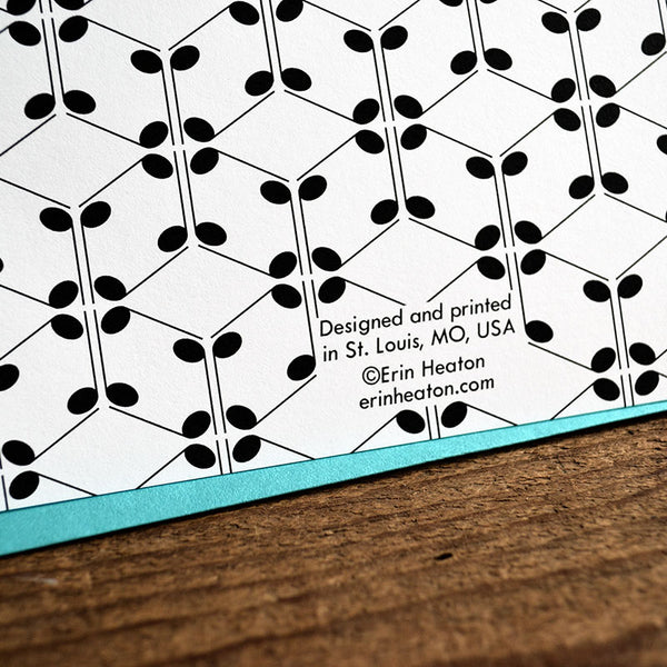 Music/Magic Note Card | erinheaton.com