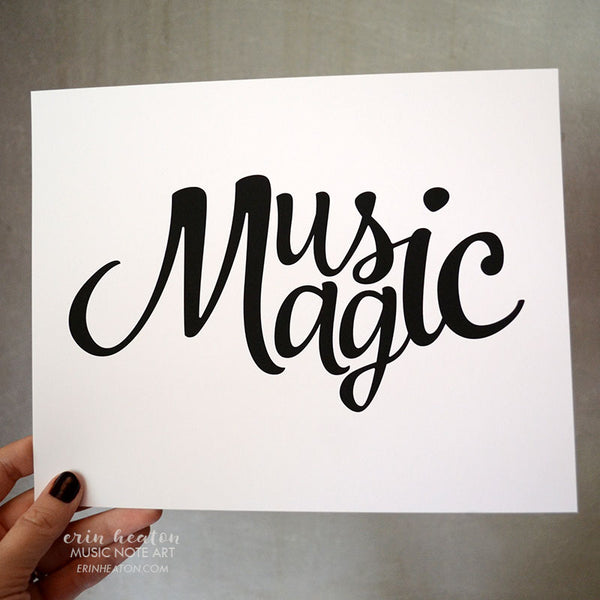 Music/Magic Art Print | erinheaton.com