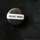 Music Nerd Button