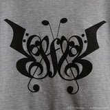Music Note Butterfly T-Shirt