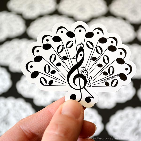 Music Note Magnets | erinheaton.com