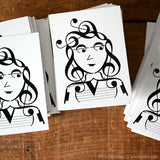 "Music Note ""It Girl"" Vinyl Stickers"