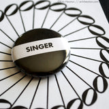 Singer Button