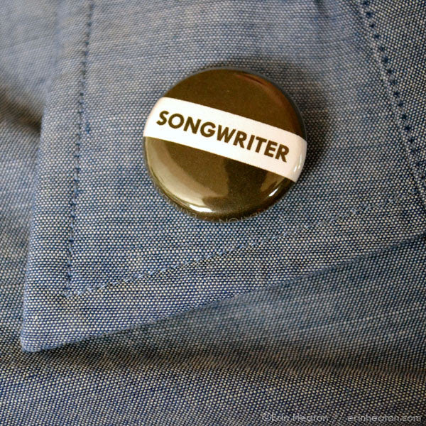 Songwriter Button