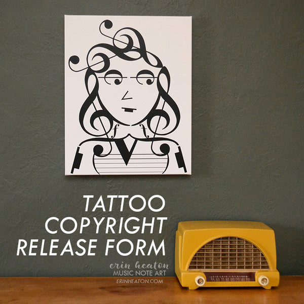 Tattoo Copyright Release Form | erinheaton.com