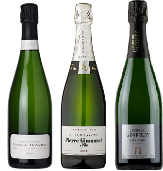 Premium Grower Champagne 3-Pack