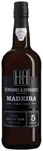 Henriques & Henriques Madeira Finest Medium Rich 5 Year Old NV (500ML)