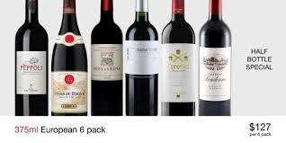 European Reds Half Bottle 6-Pack