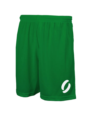 SHORTS in emerald green