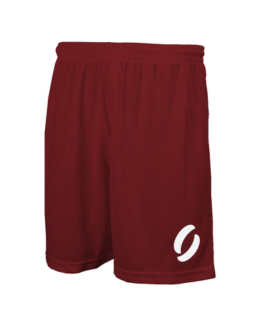 SHORTS in maroon