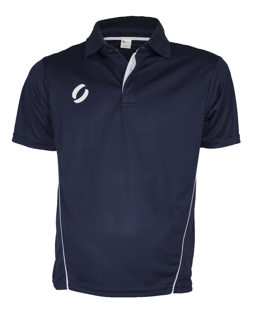 POLO TOP in navy blue