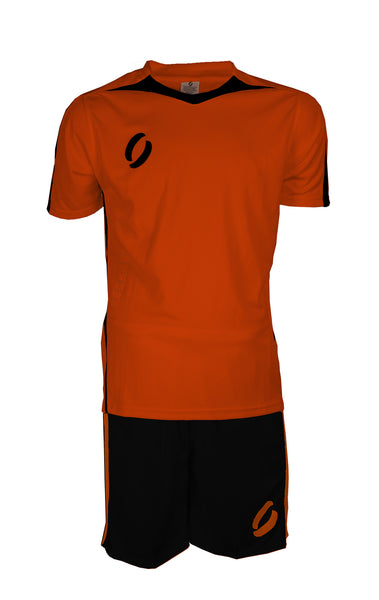 STRIKER playing strip in orange/black