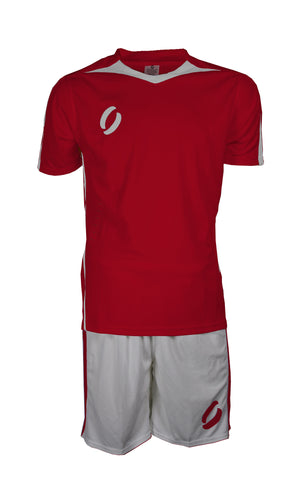 STRIKER playing strip in red/white