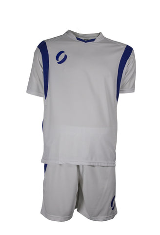 VALENCIA playing strip in white/royal