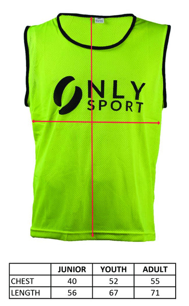Training Bib in green.