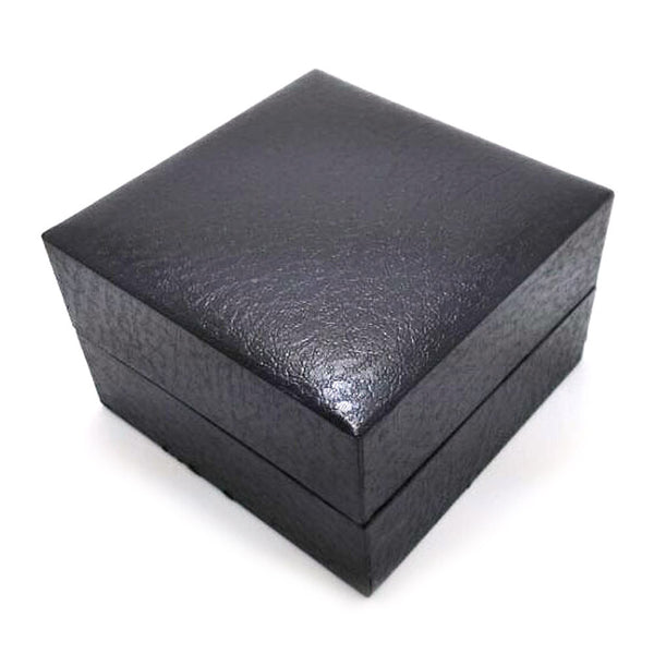 Black Leather Style Watch Case