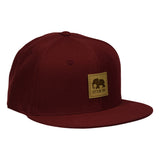 LET'S BE IRIE Elephant Hat - Cardinal Red Snapback - Let's Be Irie™