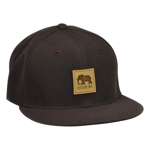 LET'S BE IRIE Elephant Hat - Brown Snapback - Let's Be Irie™