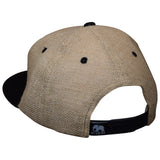 Ski Utah Hat by LET'S BE IRIE - Vintage Patch, Jute Snapback