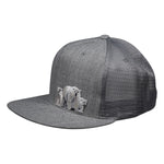 Polar Bear Trucker Hat by LET'S BE IRIE - Heather Gray Baseball Cap - Let's Be Irie™