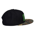 Camo and Black Mexico Hat - Snapback with Mexican Flag - Let's Be Irie™