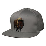 Brown Buffalo Snapback Hat by LET'S BE IRIE - Gray - Let's Be Irie™