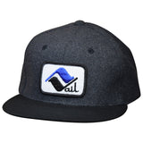 Vail Hat by LET'S BE IRIE - Colorado, Vintage Ski Patch, Wool Snapback