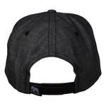 LET'S BE IRIE Snapback - Washed Black Denim - Let's Be Irie™