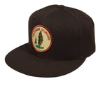 California Redwoods Snapback Hat by LET'S BE IRIE - Brown - Let's Be Irie™