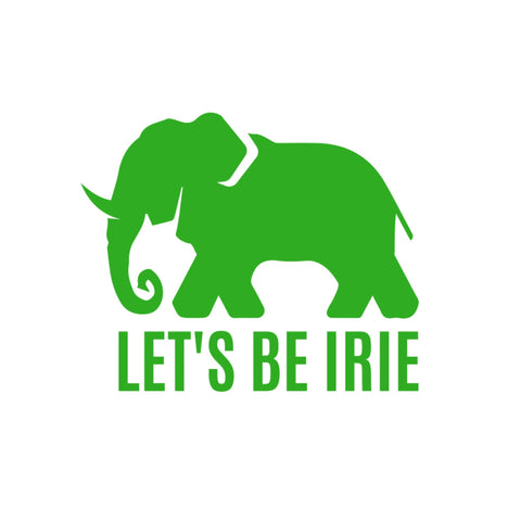 LET'S BE IRIE Sticker Pack (3 Pieces) - Let's Be Irie™