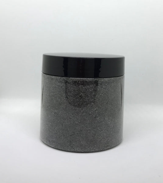 Charcoal Dead Sea Salt Face & Body Scrub - Blu Fin Whitening