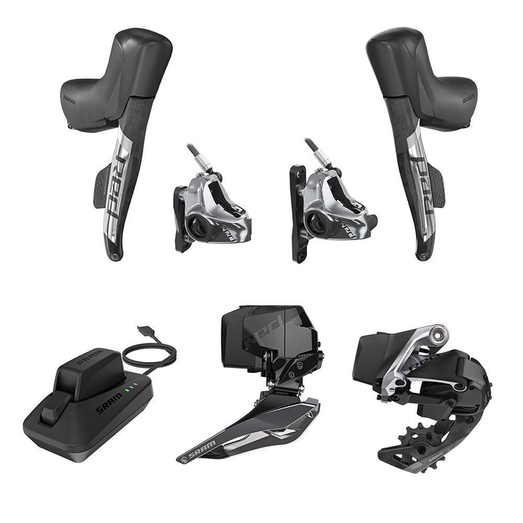 SRAM Red ETAP AXS Hydro Disc Flat Mount 2x12 Kit