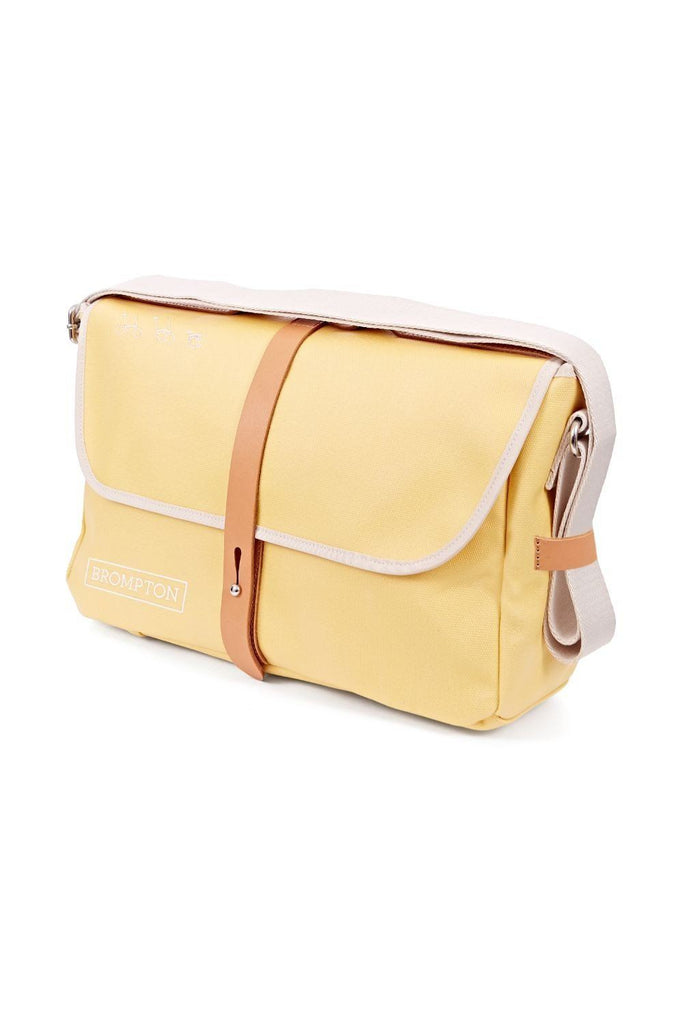 Brompton Shoulder Bag + frame Yellow