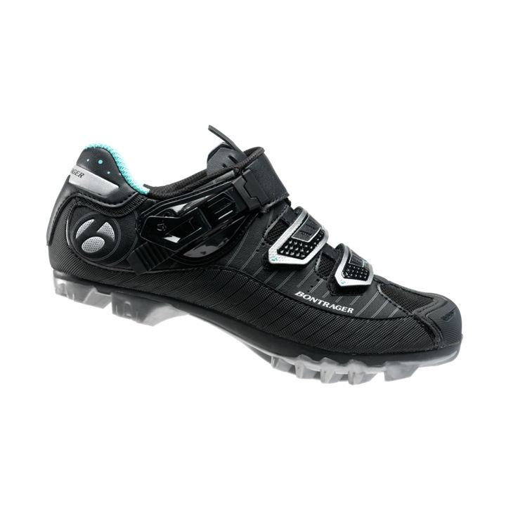 Bontrager RL Womens MTB Shoe 36 Black CLOSEOUT - Cycles Galleria Melbourne
