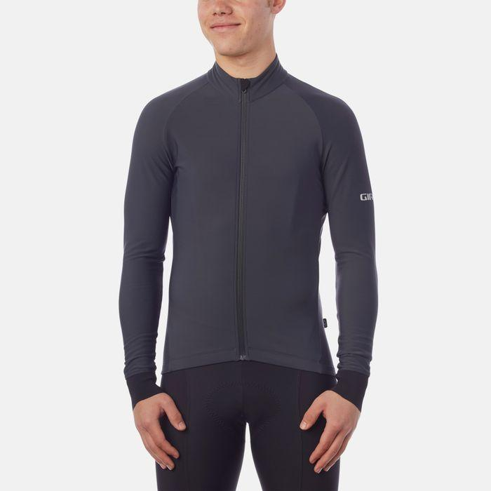 Giro Jersey Chrono LS Thermal Charcoal - L