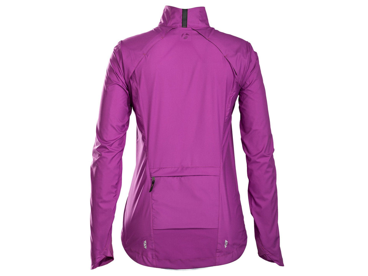 Bontrager Jacket VELLA Windshell Womens L PRP - Cycles Galleria Melbourne