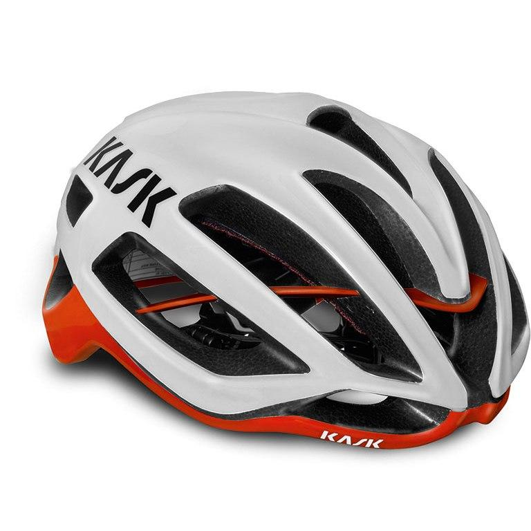 Kask Protone - White/Red White/Red L 59-62 - Cycles Galleria Melbourne