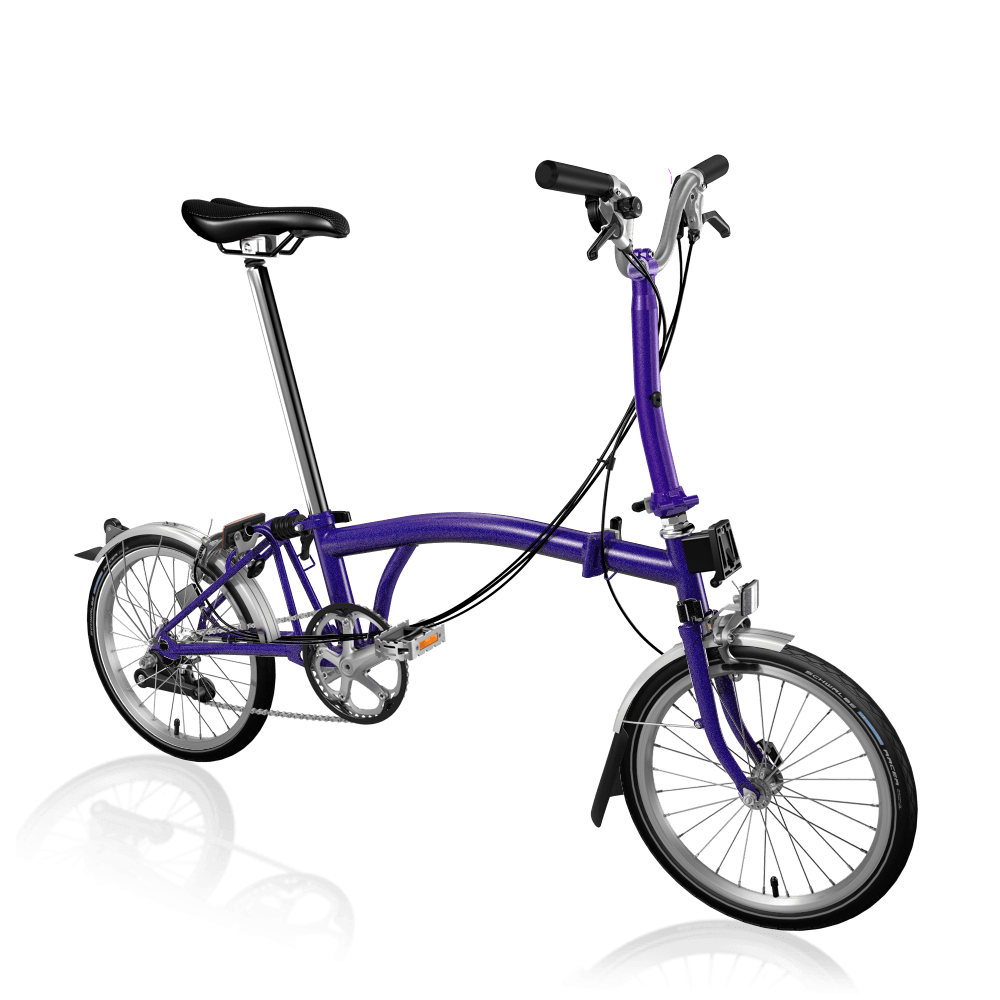 Brompton MY20 M6L Purple Metallic