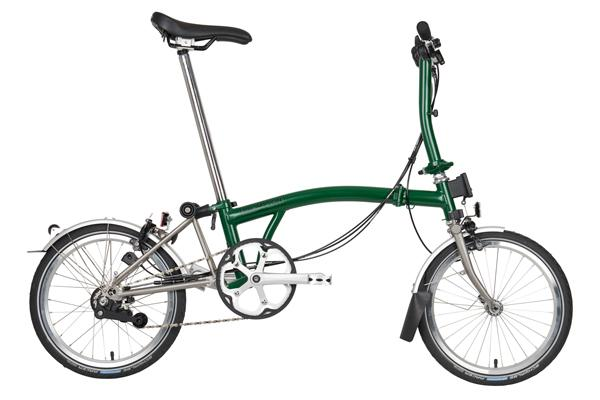 Brompton MY20 S6L Racing Green Folding Bike - Cycles Galleria Melbourne
