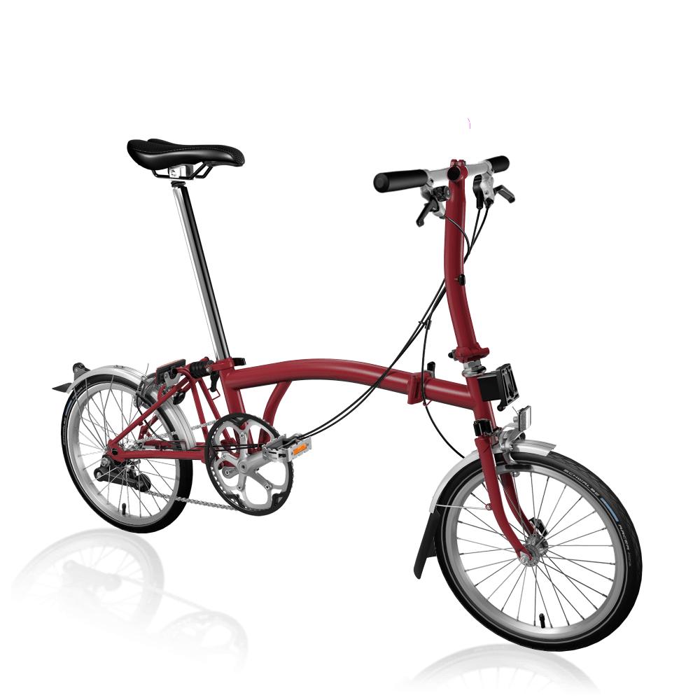Brompton MY20 S2L House Red Folding Bike