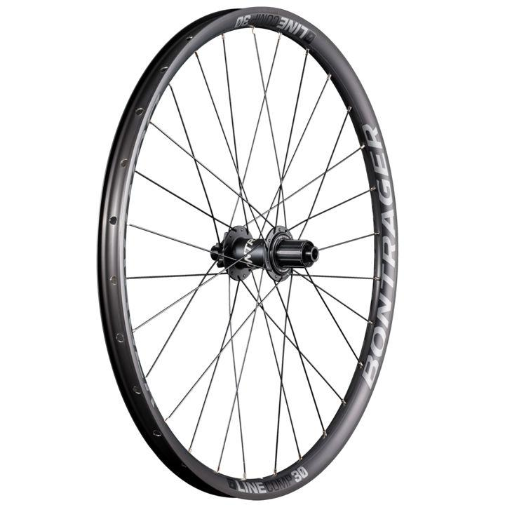 Bontrager Wheel Rear Line Comp 30 27.5D 148 Anthracite/Black - Cycles Galleria Melbourne
