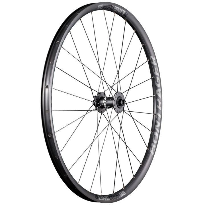 Bontrager Wheel Front Line Comp 30 29D 110 Anthracite/Black - Cycles Galleria Melbourne