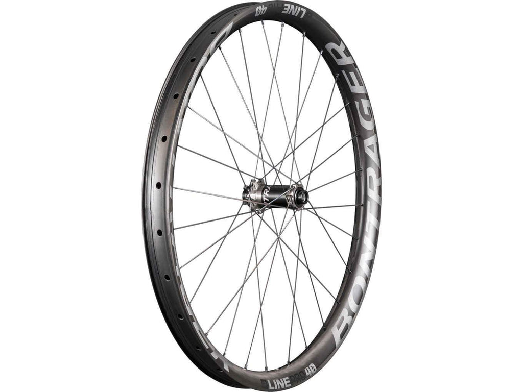 Bontrager Wheel Front Line Pro 40 27.5 110 Anthracite/Black - Cycles Galleria Melbourne