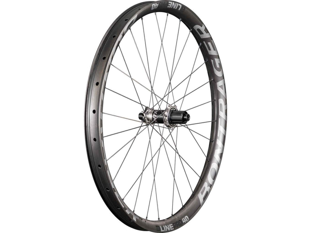 Bontrager Wheel Rear Line Pro 40 27.5 148 Anthracite/Black - Cycles Galleria Melbourne