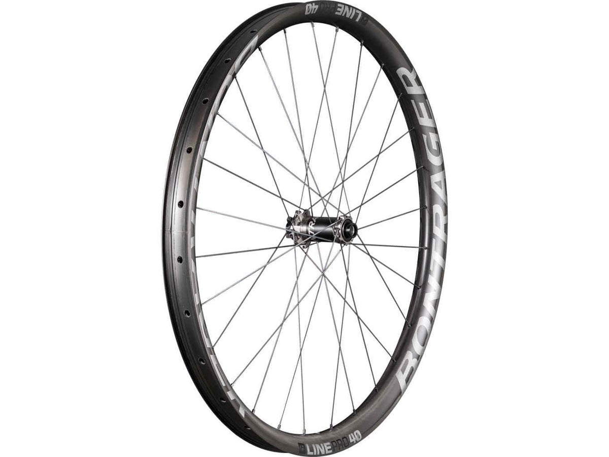 Bontrager Wheel Front Line Pro 40 29 110 Anthracite/Black