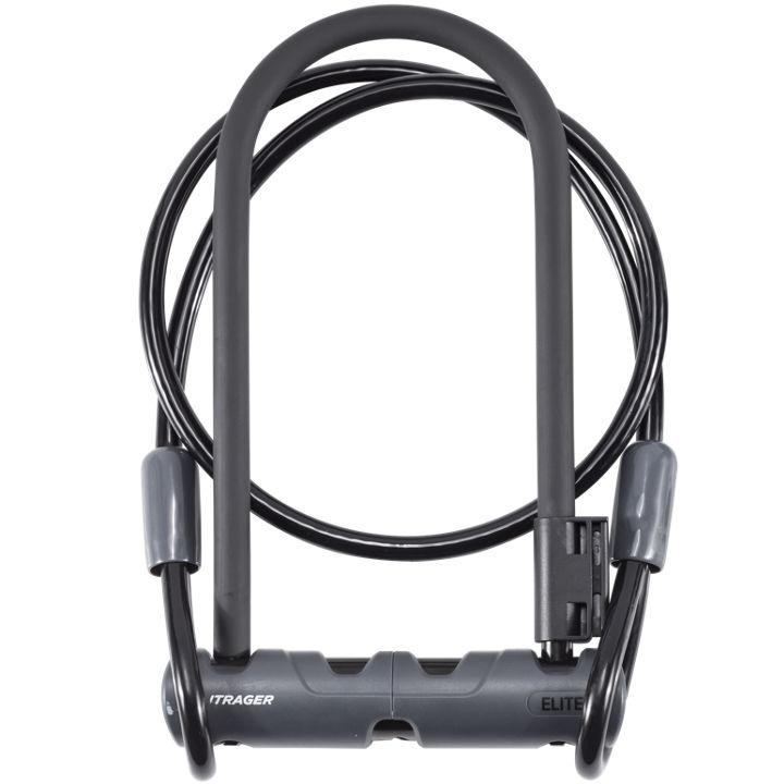 Bontrager U-Locks with Cable Black 12mm x 23cm